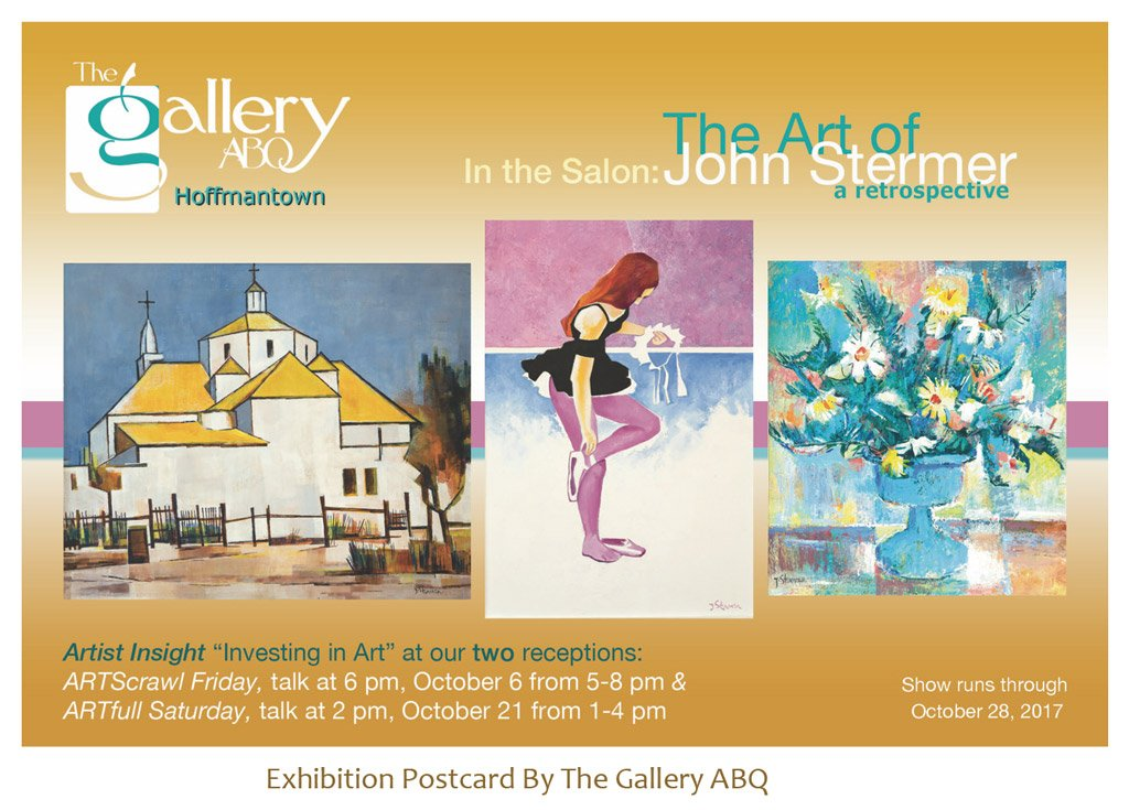 John Stermer Retrospective The Gallery ABQ