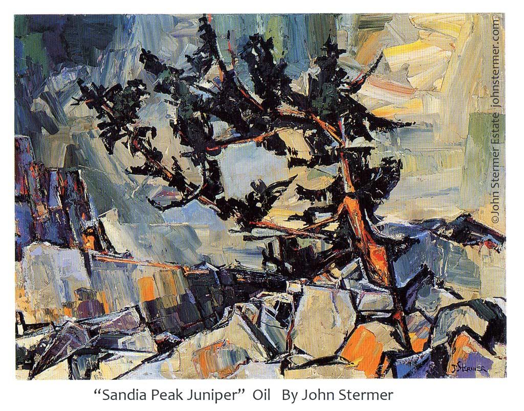 Sandra Peak Juniper by John Stermer