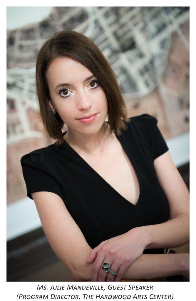 Julia Mandeville Guest Speaker
