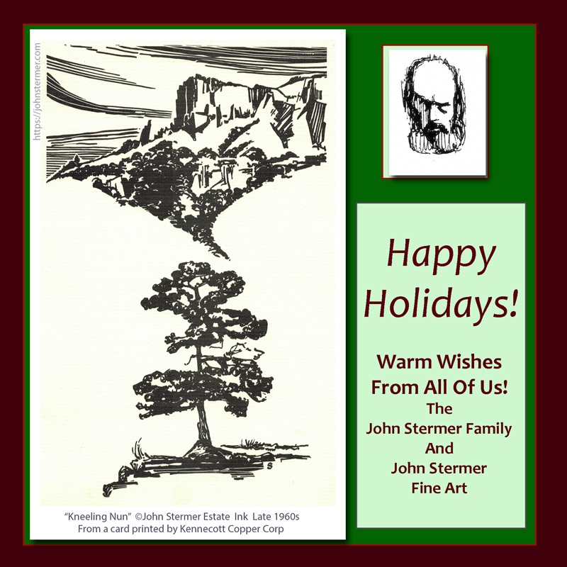 Happy Holidays from John Stermer Estate