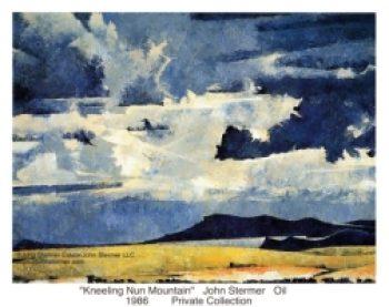 Kneeling Nun Mountain by John Stermer