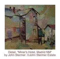 Detail, Miner's Motel, Madrid NM