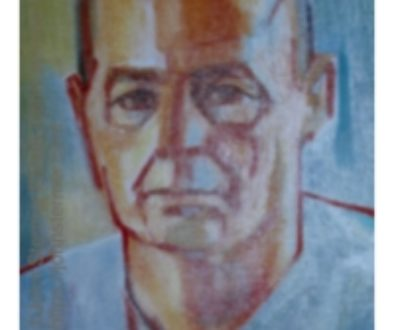 Family Portraits: Detail of a Self Portrait by the Artist; 1970