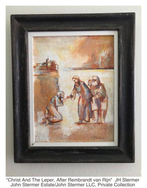 After Rembrandt van Rijn: Christ And The Leper