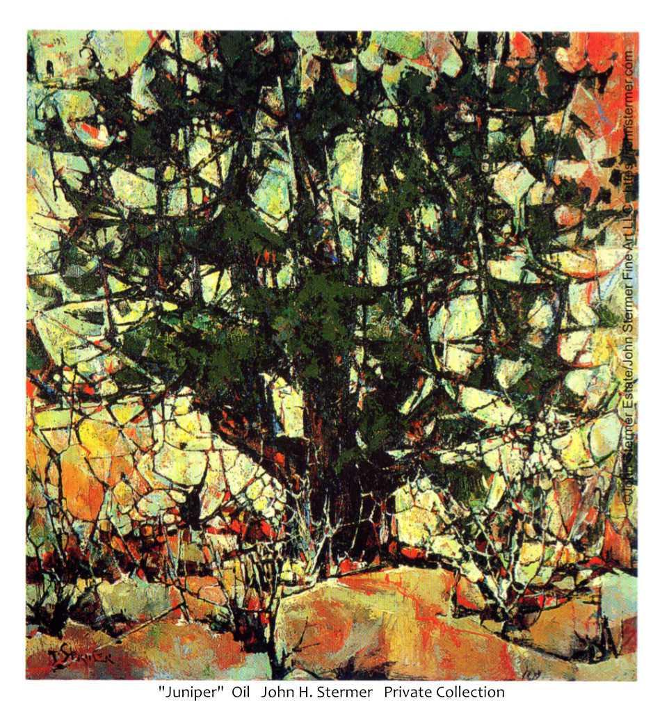 Trees As Subject: Juniper