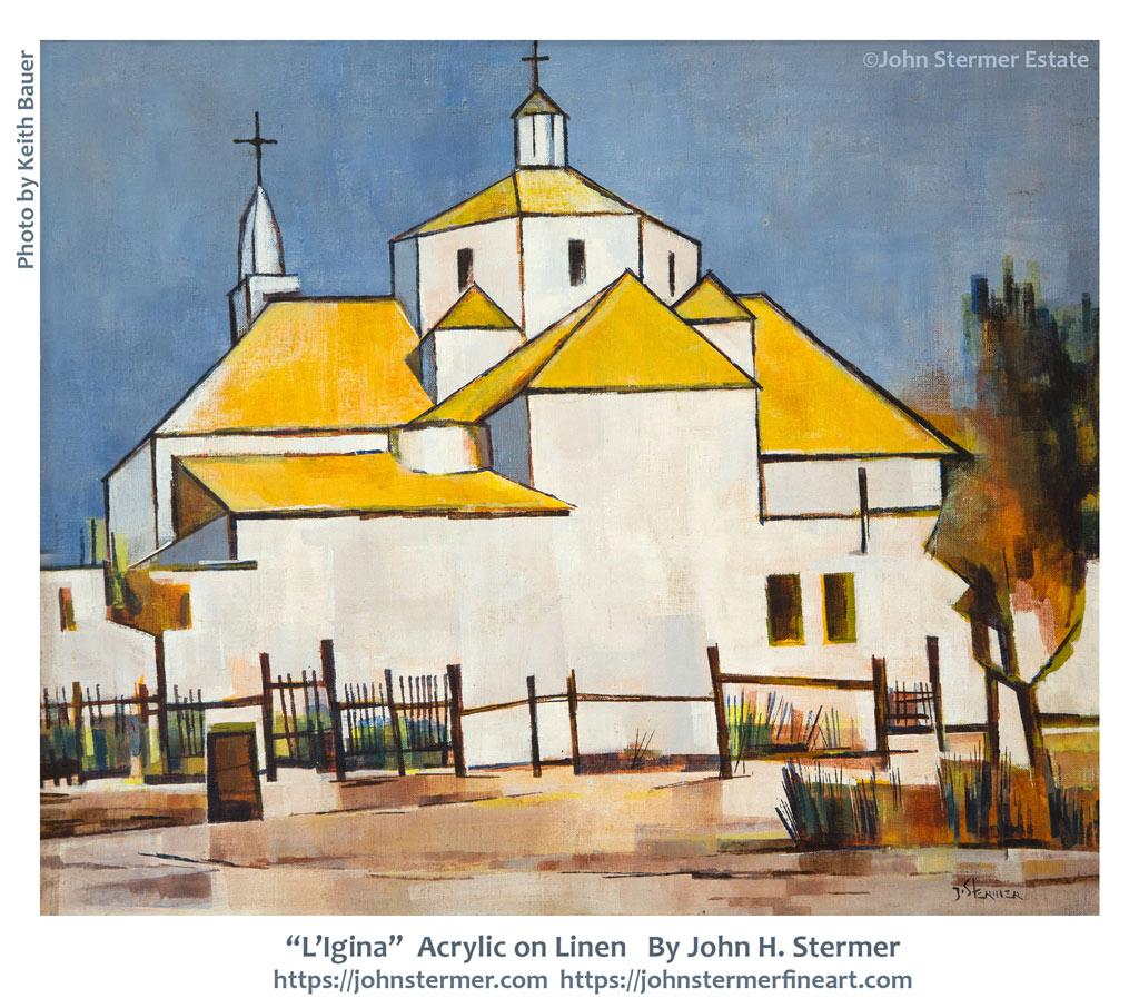 Spiritual In Nature: L'Ignina - Church