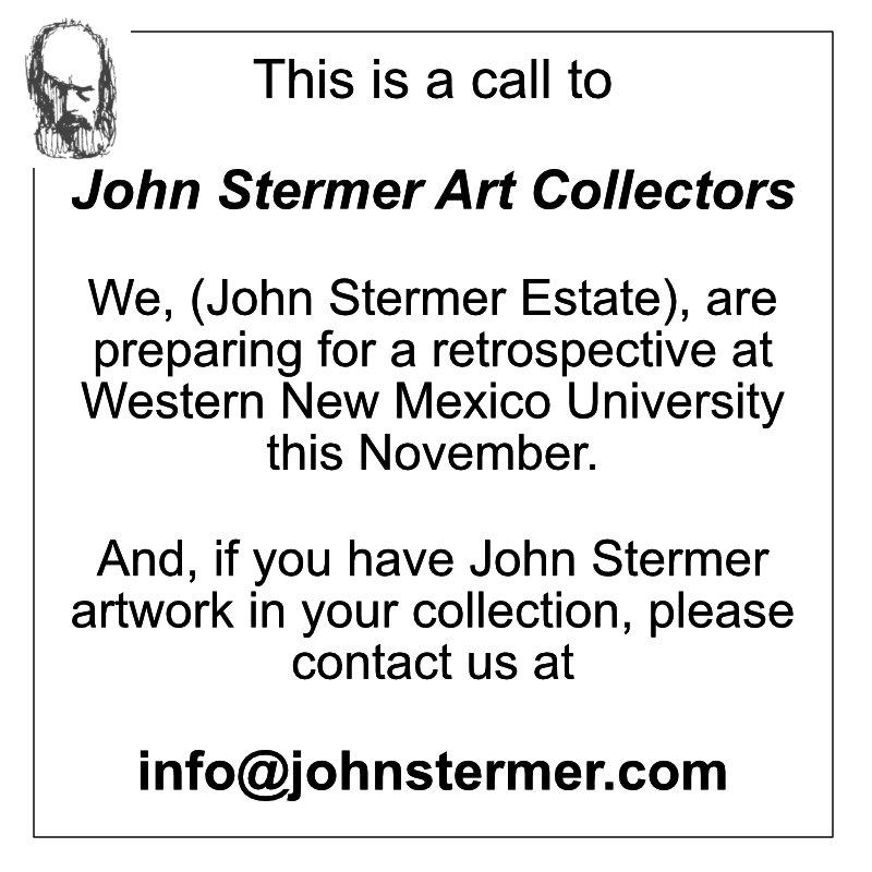 John Stermer Retrospective: Call For Artwork