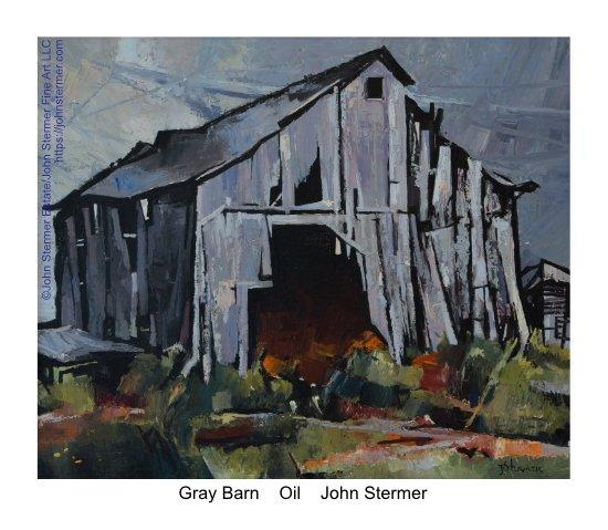 John Stermer Retrospective: Old Gray Barn